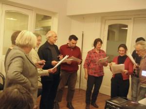 Nieuwjaarsbijeenkomst: het BDS koor